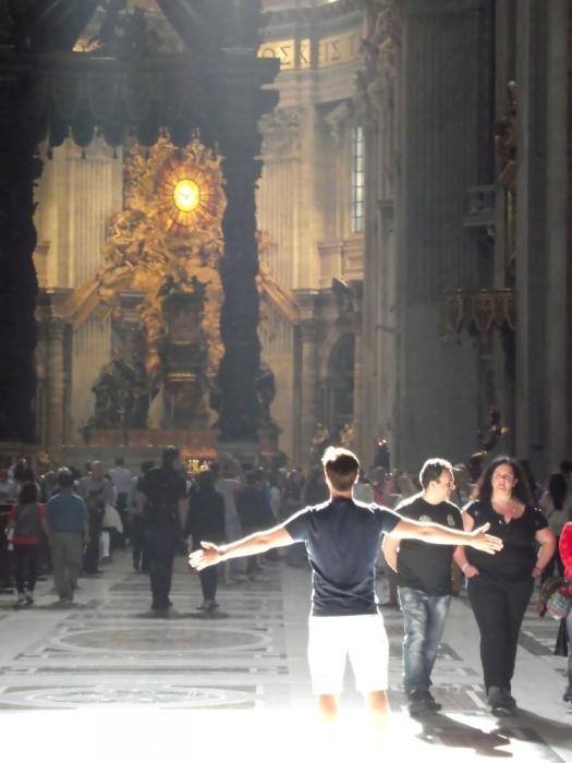 Свет, собор святого Петра